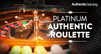 Platinum Authentic Roulette