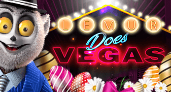 Lemur Does Vegas Easter Edition